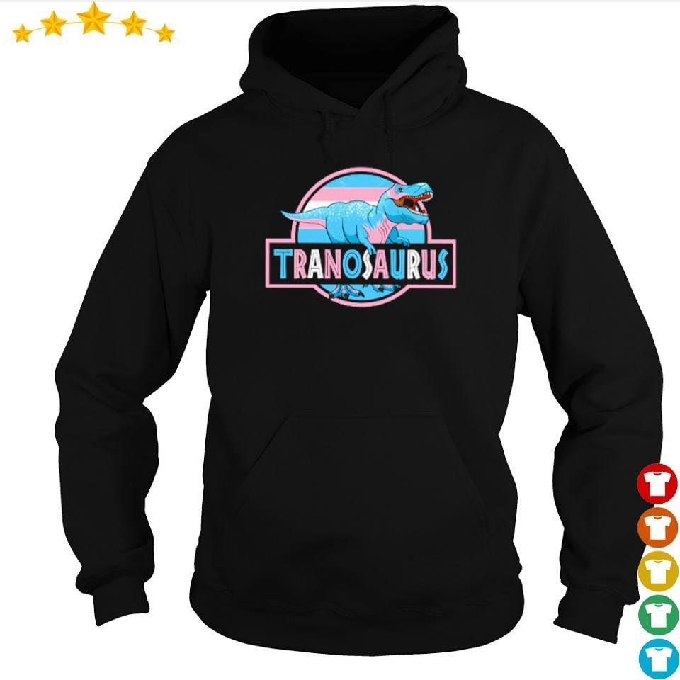 T Rex LGBT Tranosaurus s hoodie