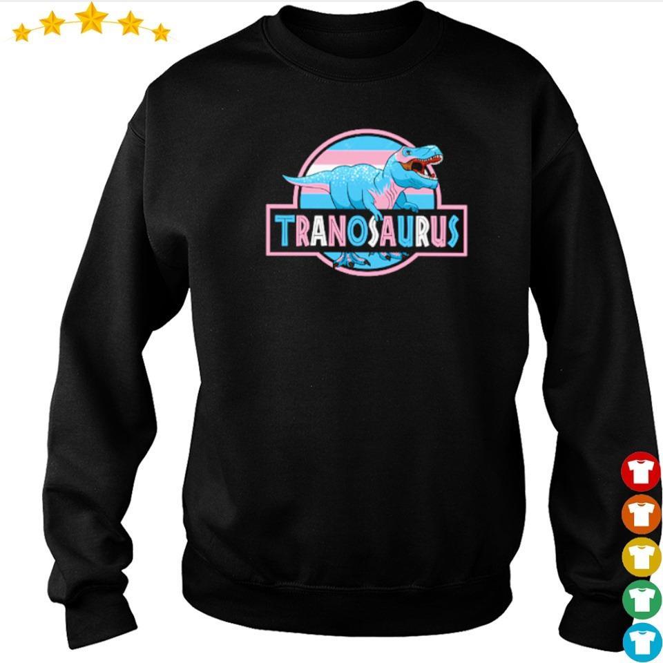 T Rex LGBT Tranosaurus s sweater