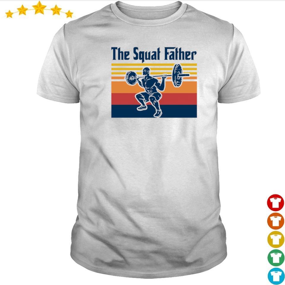 The Squat Father Vintage shirt