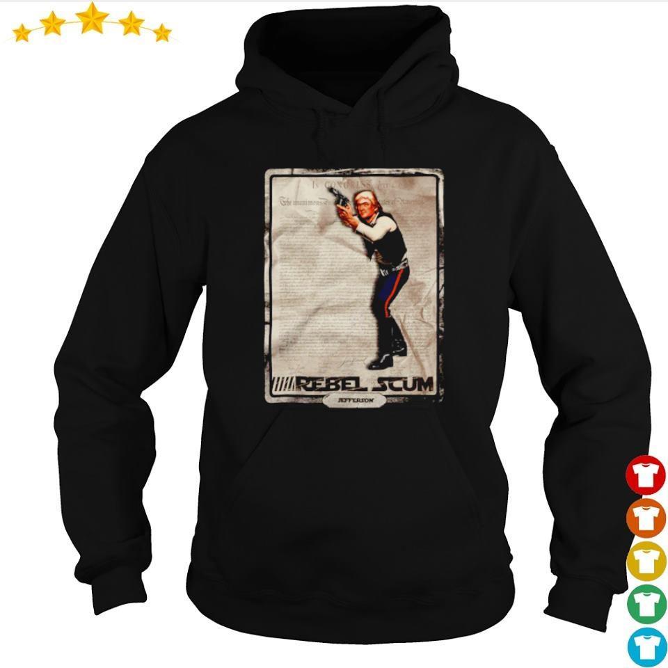 Thomas Jefferson rebel scum s hoodie