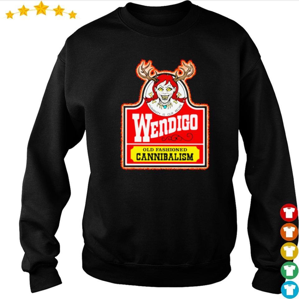 Wendigo old fashioned cannibalism s sweater