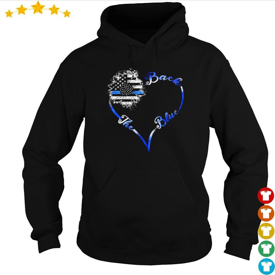 America Flag Back The Blue s hoodie