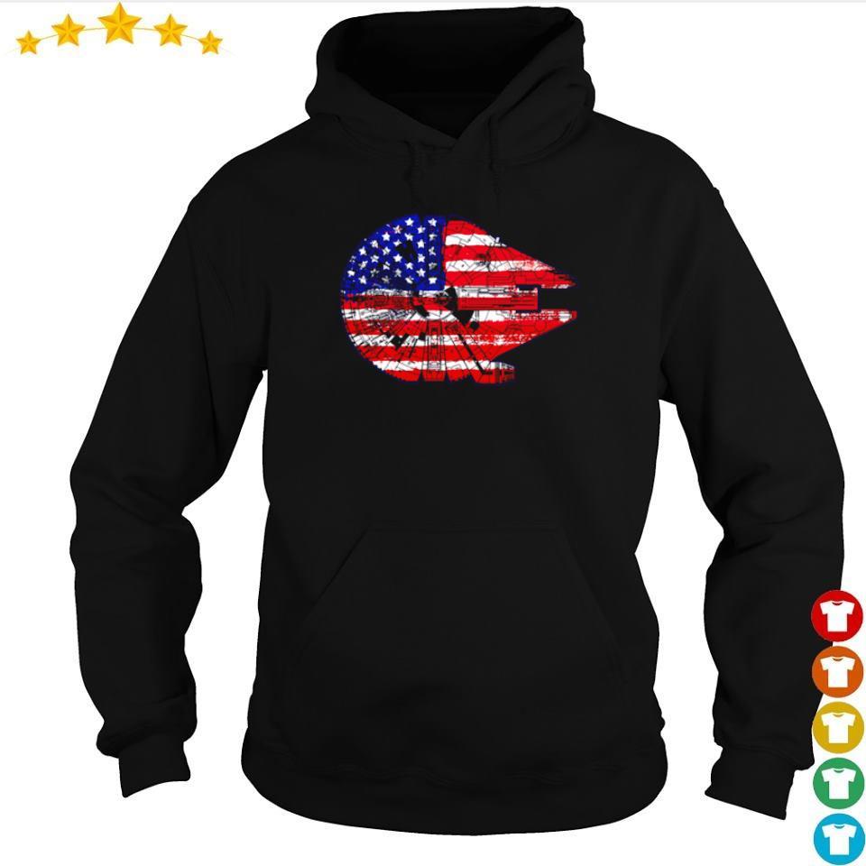 American Flag Death Star s hoodie