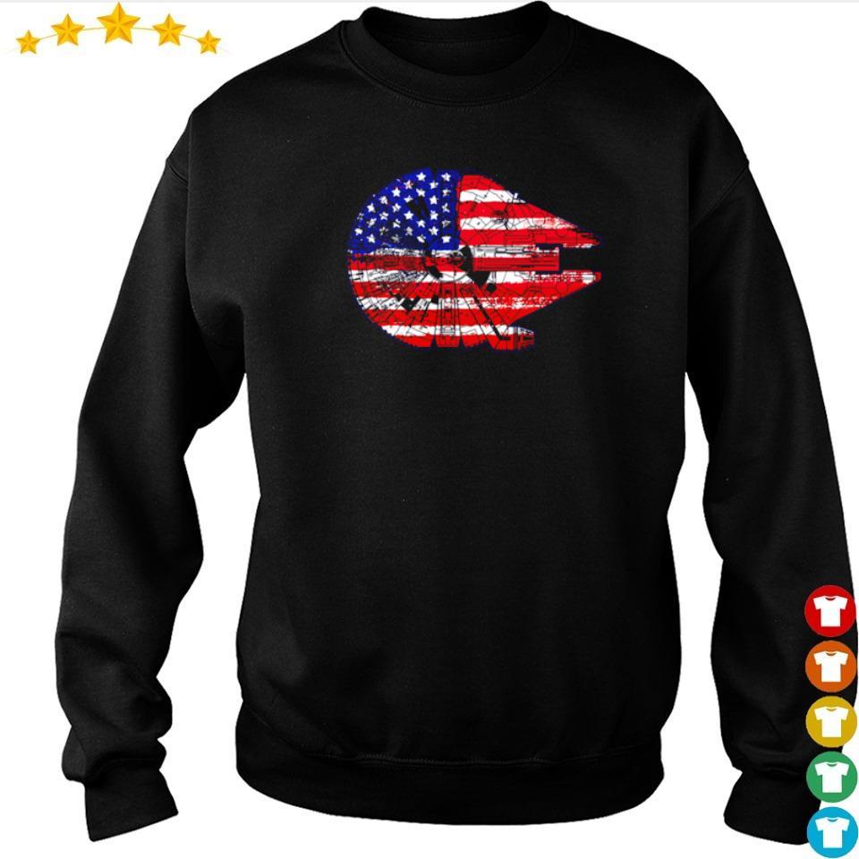 American Flag Death Star s sweater