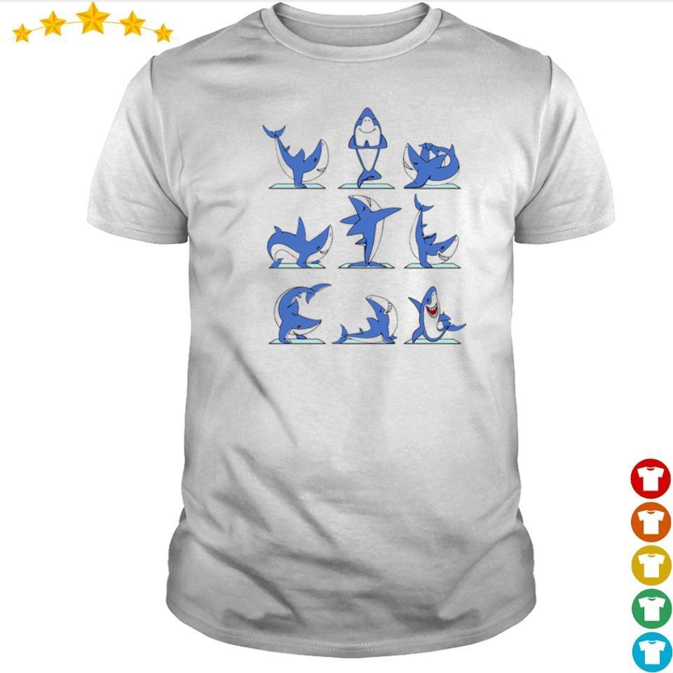 Awesome Shark Master Yoga shirt