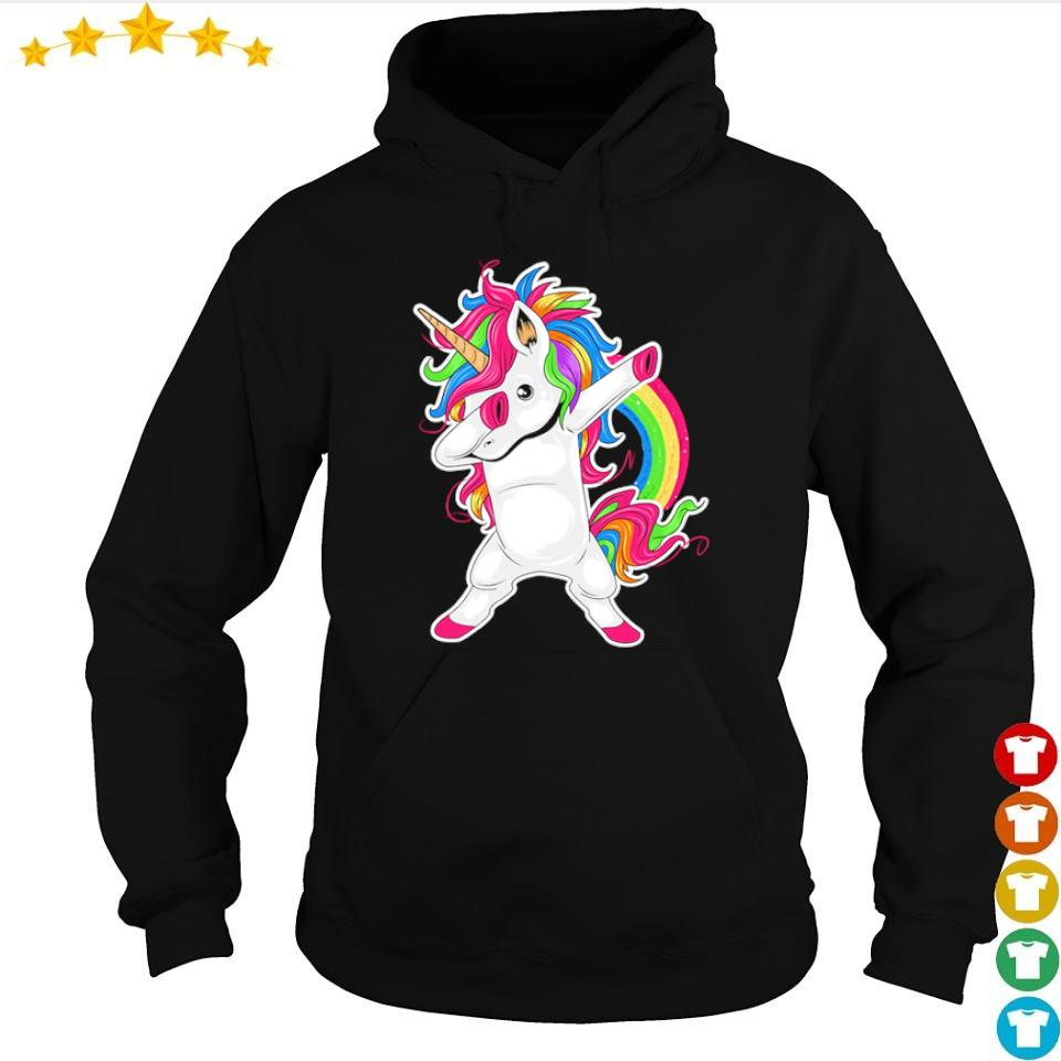 Awesome Unicorn dab hip hop s hoodie