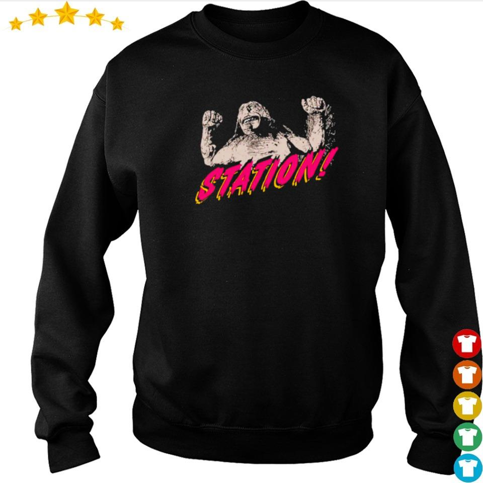 Bill and Teds Bogus Journey station s sweater