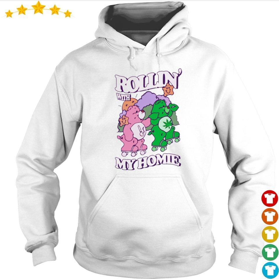 Couple bear Rollin' with my home s hoodie