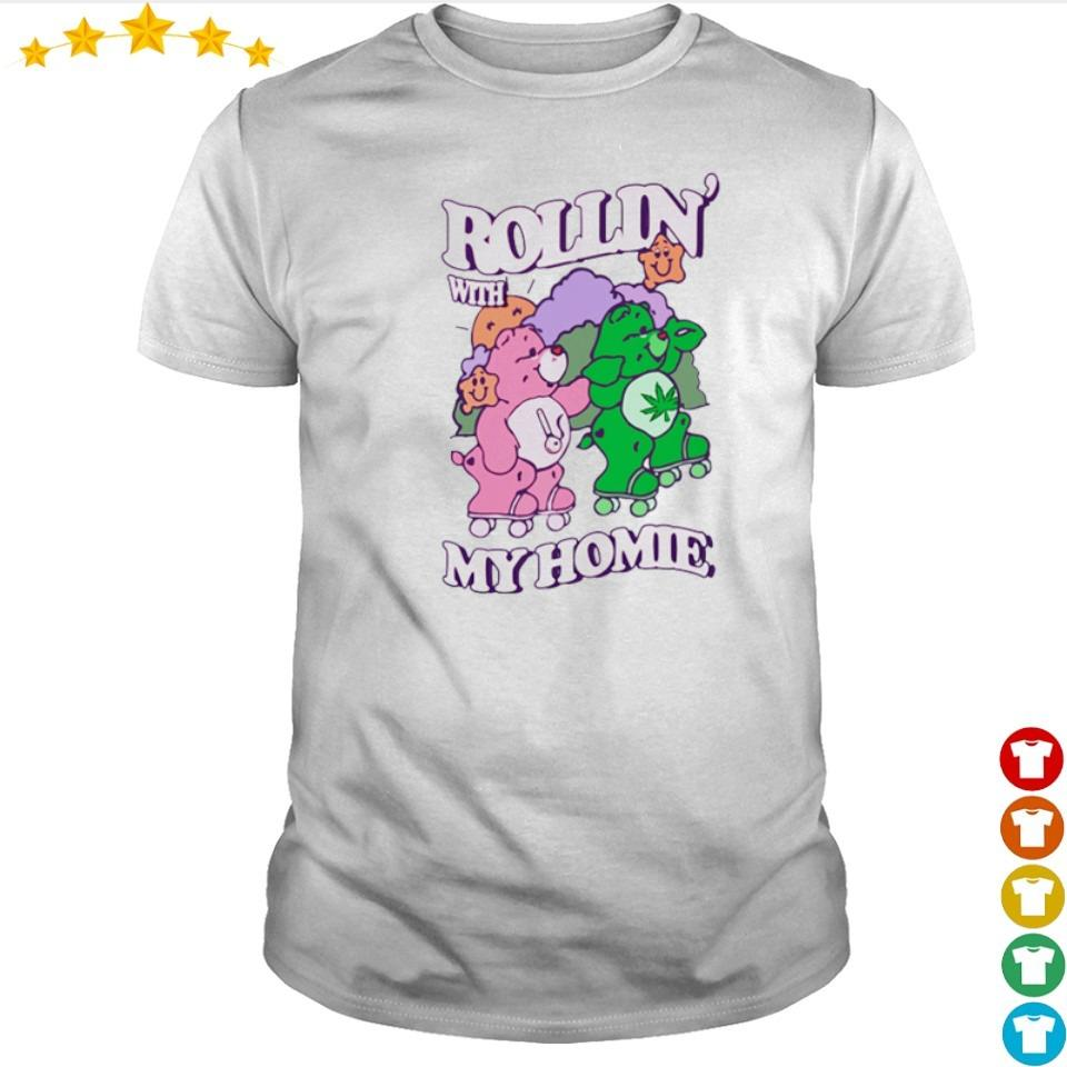 Couple bear Rollin' with my home shirt