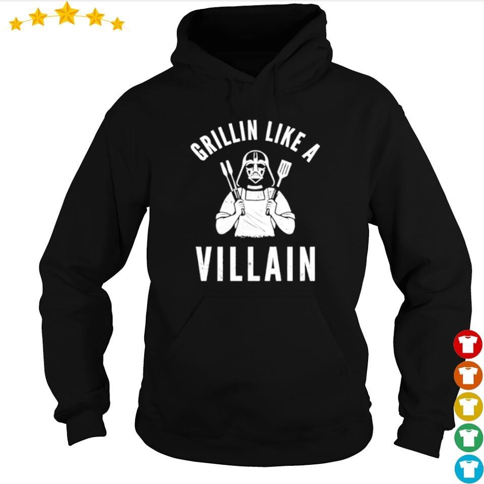 Darth Vader Grillin like a villain s hoodie