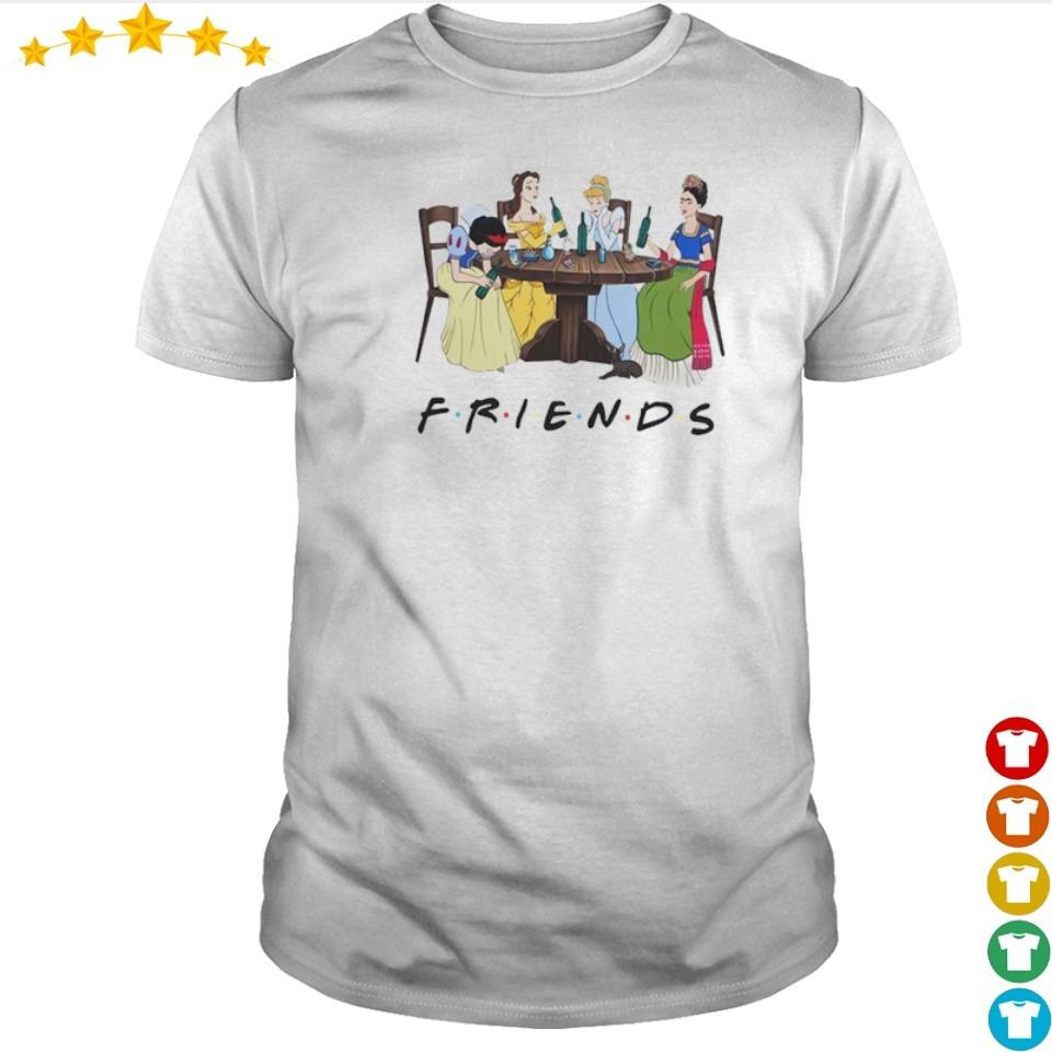 Disney Princess Friends TV Show shirt