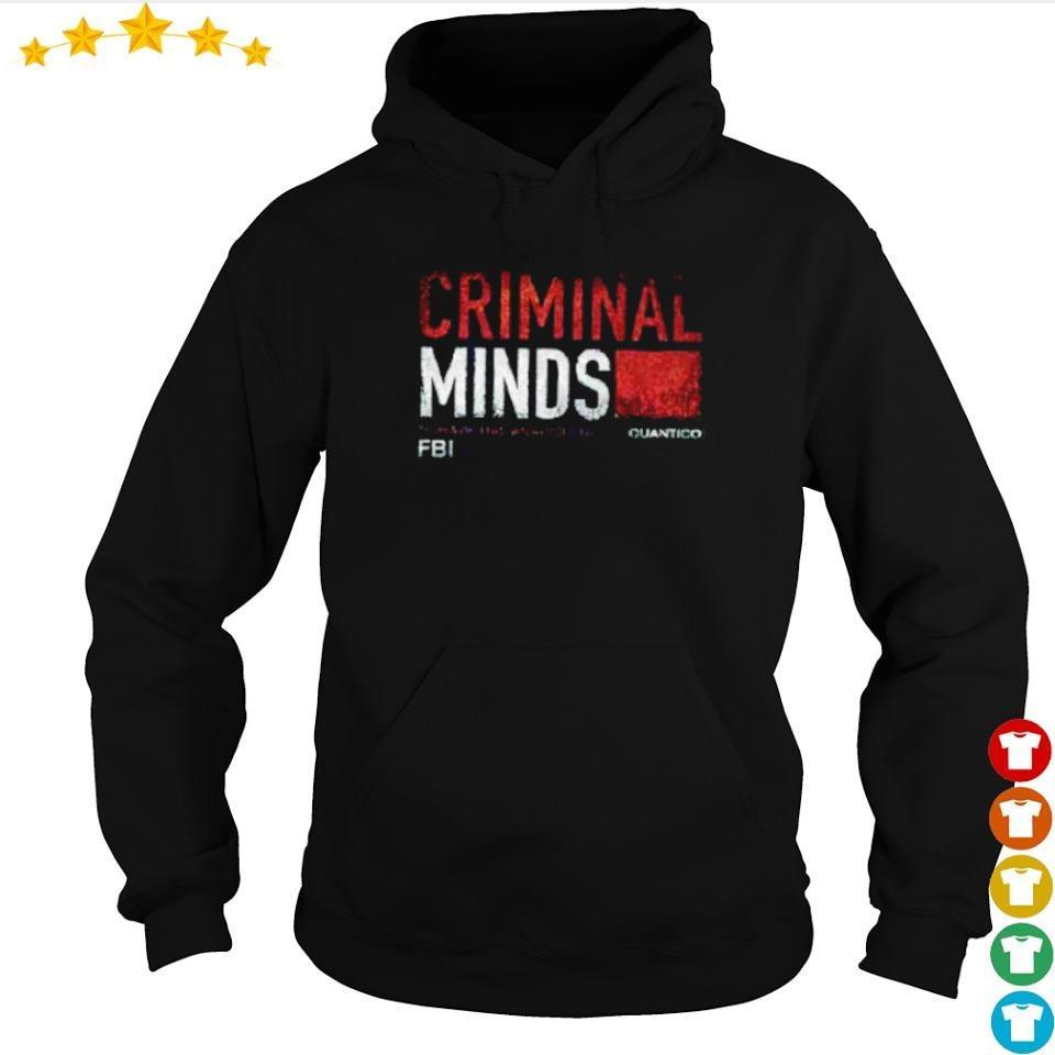 FBI Criminal Minds Quantico s hoodie