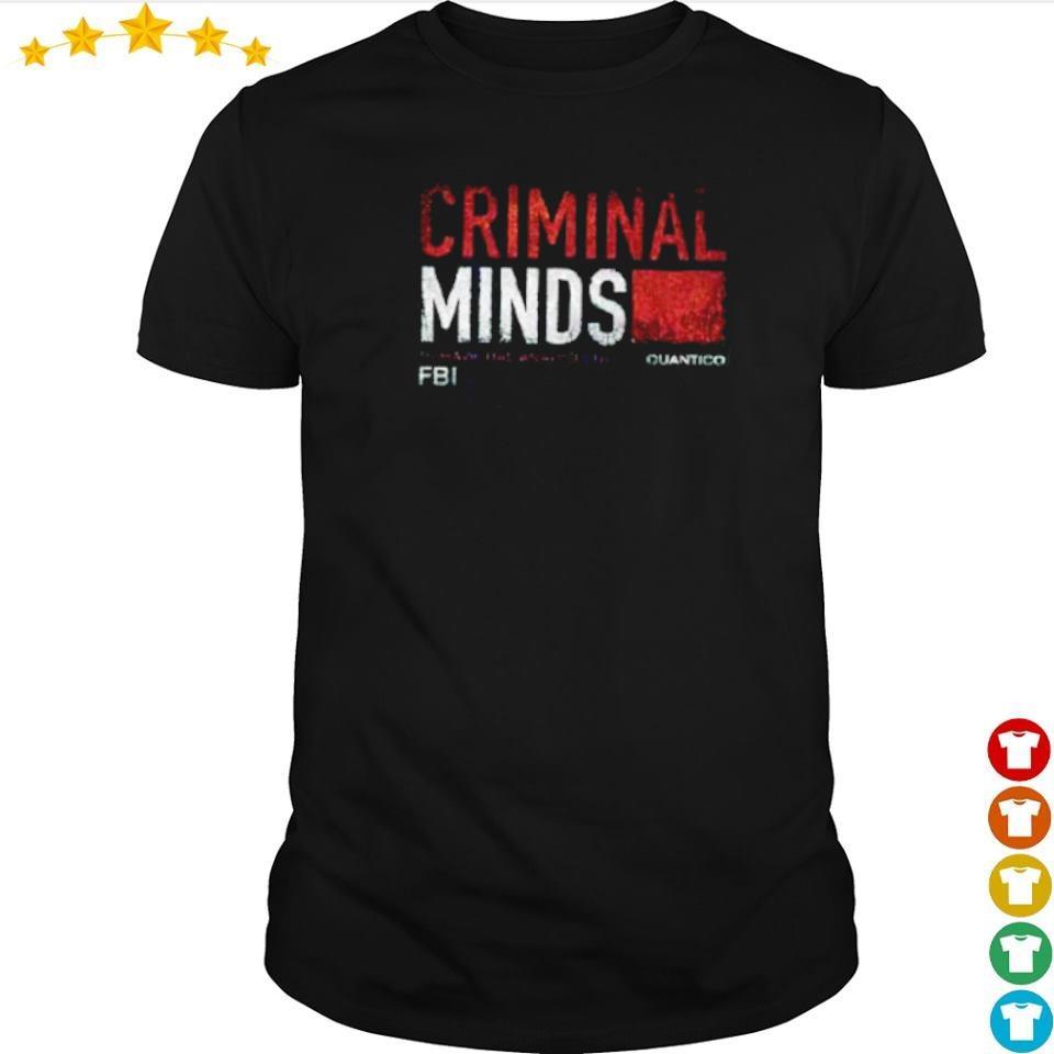 FBI Criminal Minds Quantico shirt