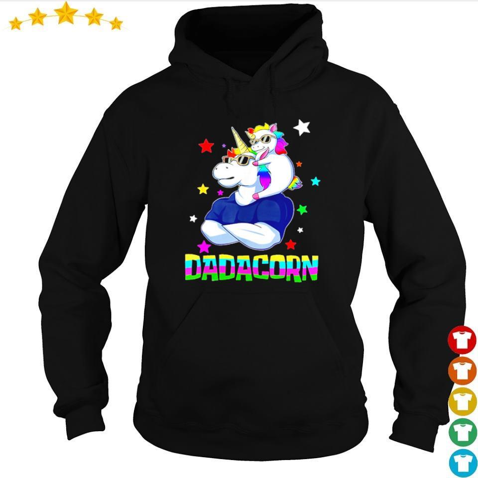 Funny dadacorn s hoodie