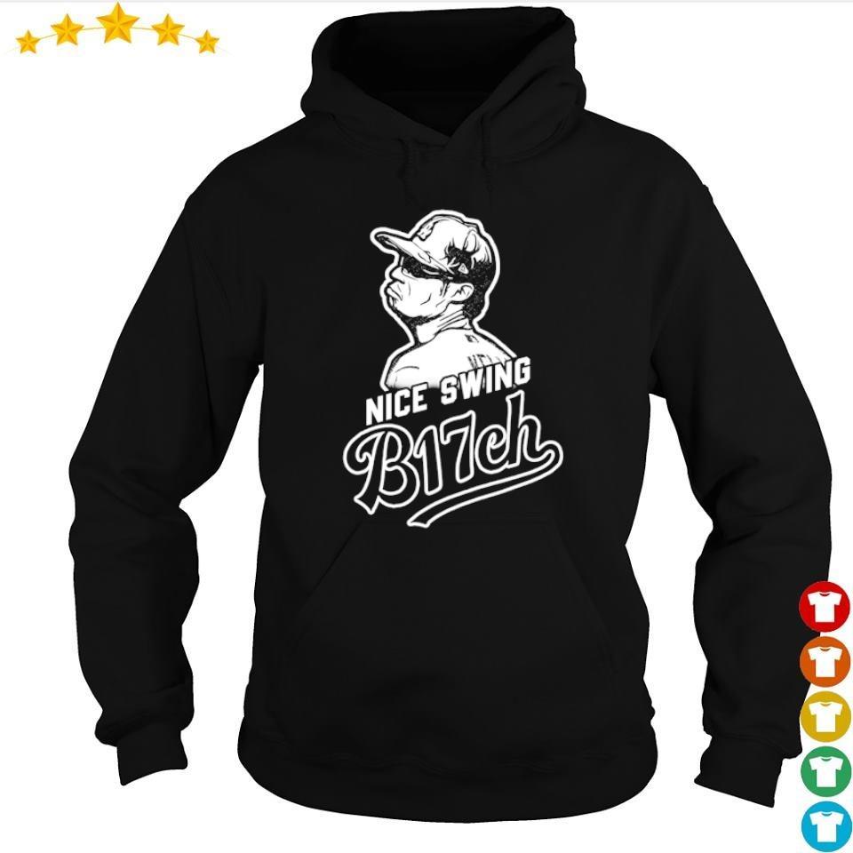 Joe Kelly nice swing b17ch s hoodie