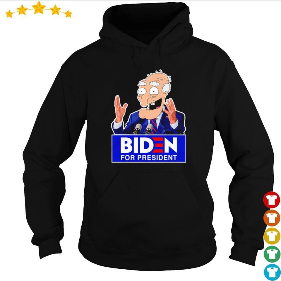 Old Biden for president s hoodie
