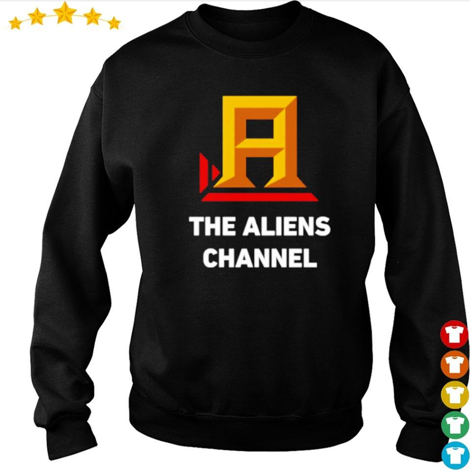The Aliens Channel s sweater