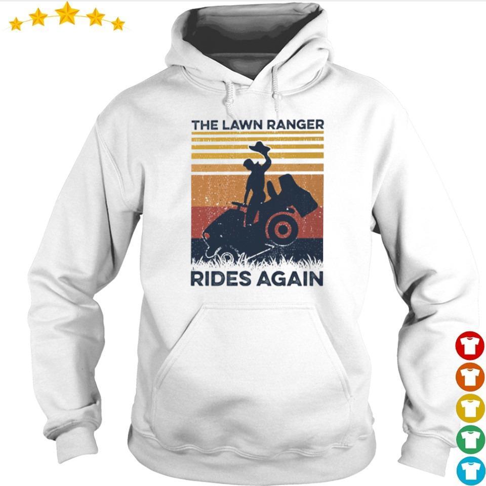 The lawn ranger rides again vintage s hoodie