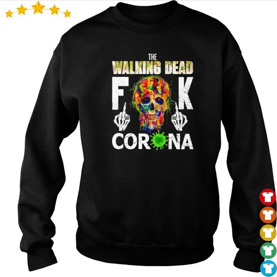 The Walking Dead fuck corona s sweater