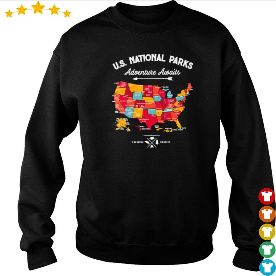 US Natonal Parks Adventure Awaits s sweater