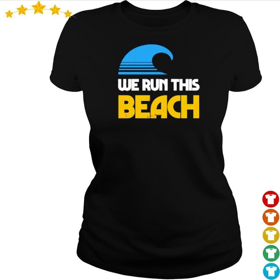 We run this beach s ladies tee
