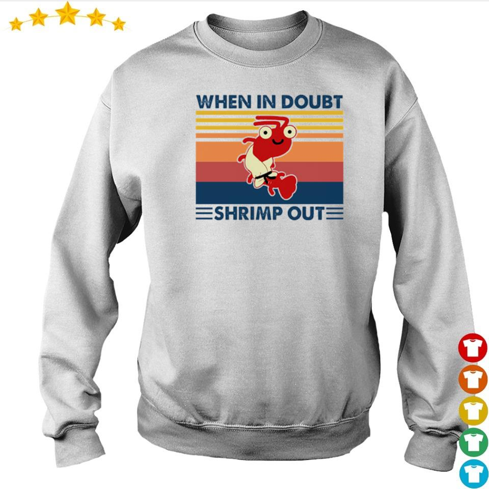 When in doubt shrimp out vintage s sweater