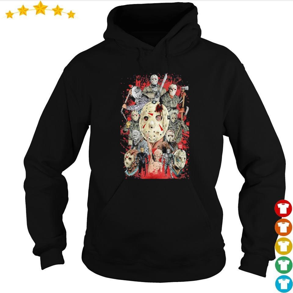 All 13 looks of Jason Voorhees s hoodie