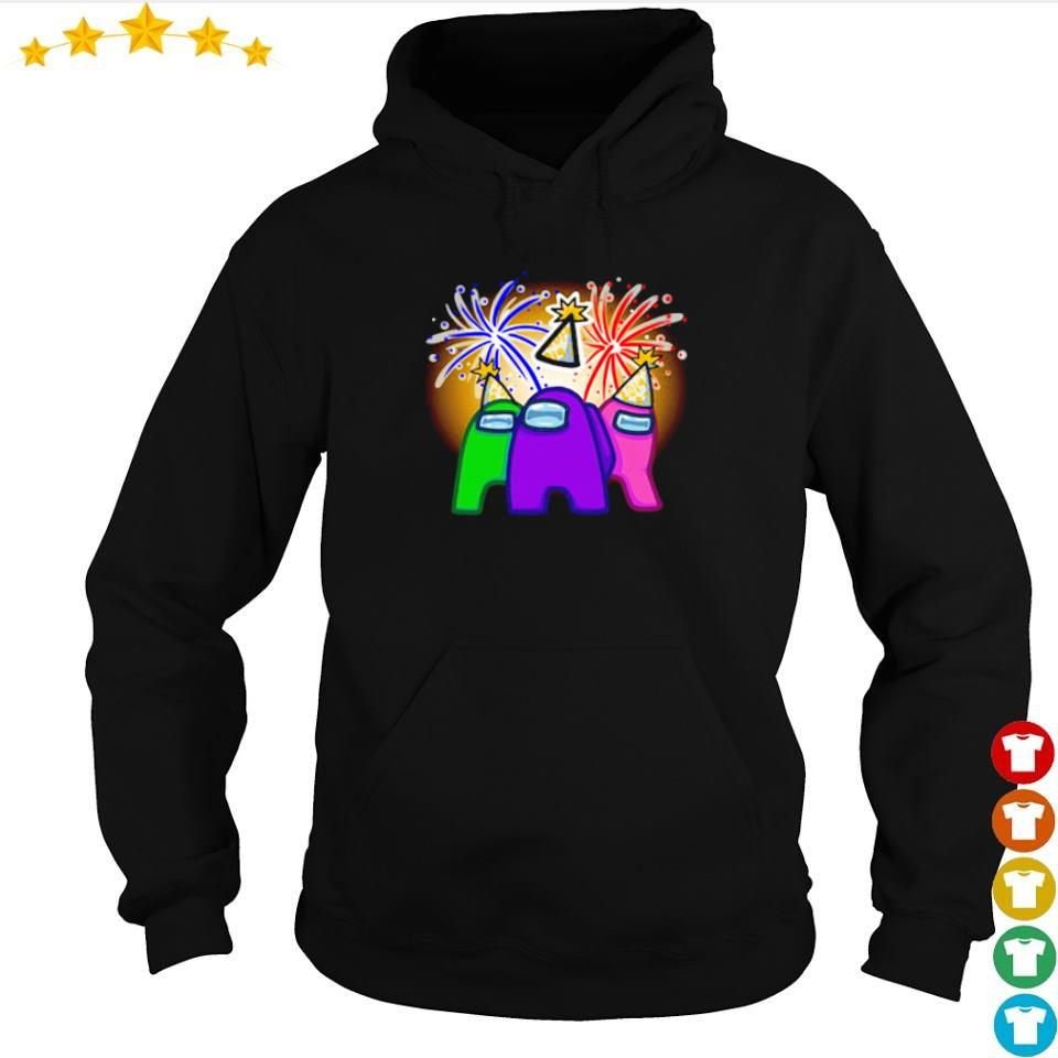 Among Us character party winning s hoodie