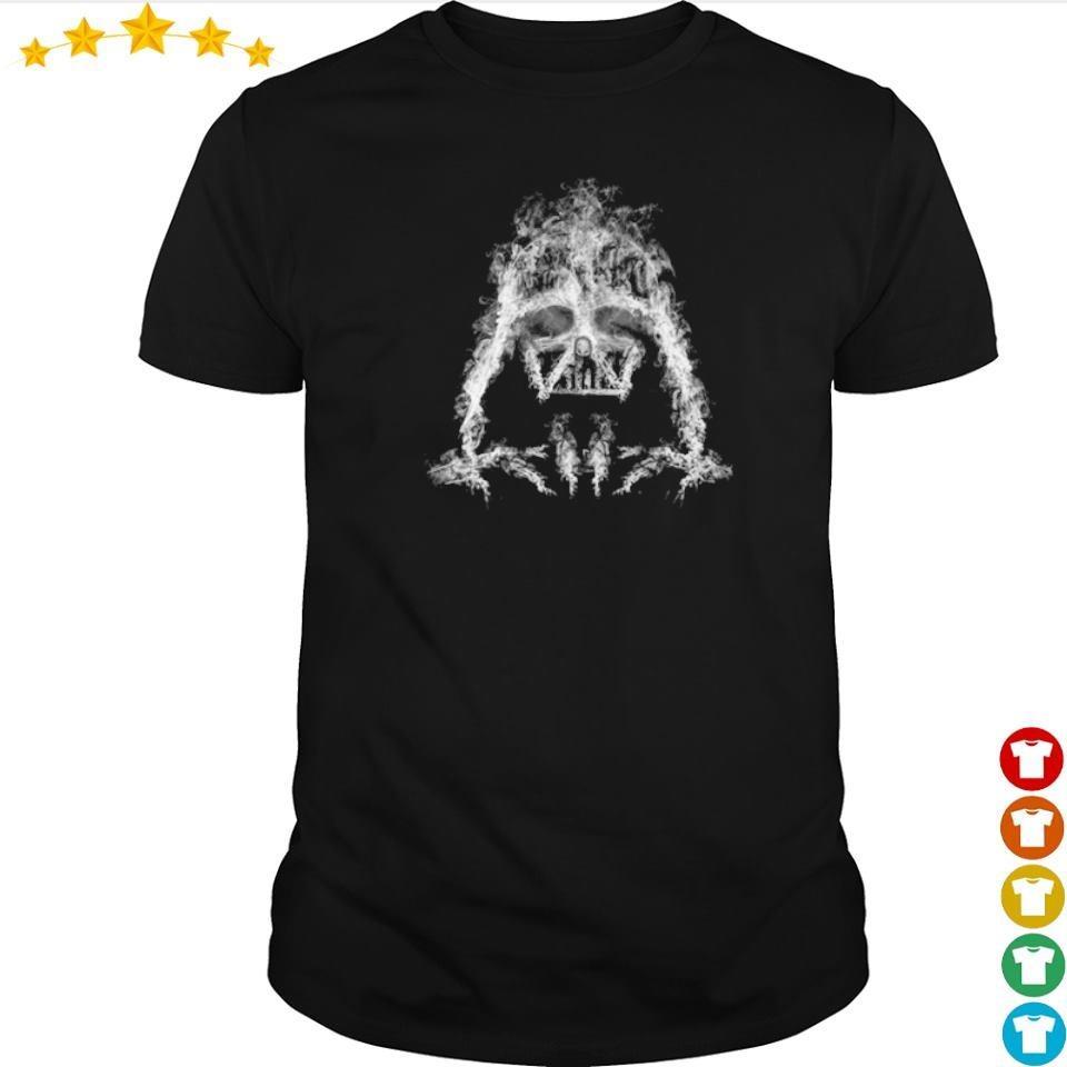 Awesome Star Wars Darth Vader Smoke shirt