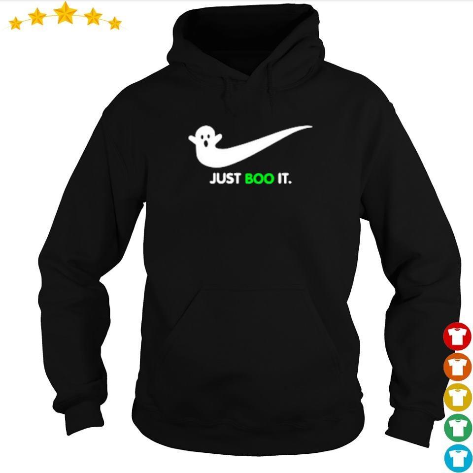 Halloween Ghost Nike Just Boo It s hoodie