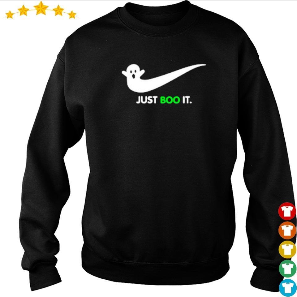 Halloween Ghost Nike Just Boo It s sweater