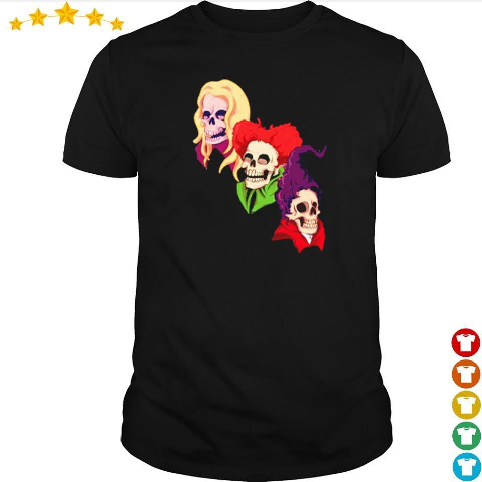 Happy Halloween Skull Hocus Pocus shirt
