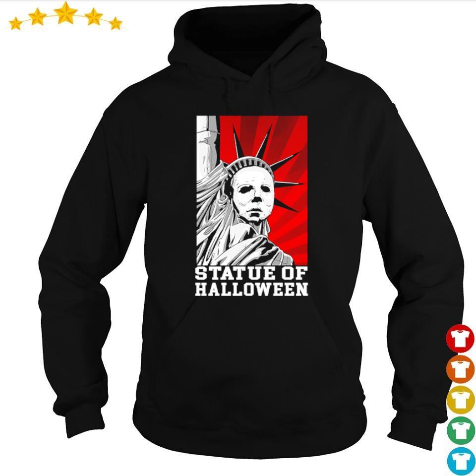 Horror movie Michael Myers statue of Halloween s hoodie