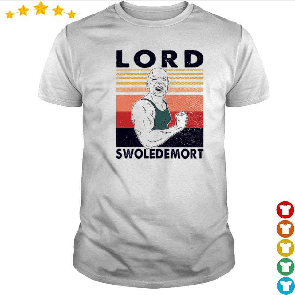 Lord swoledemort gym vintage retro shirt
