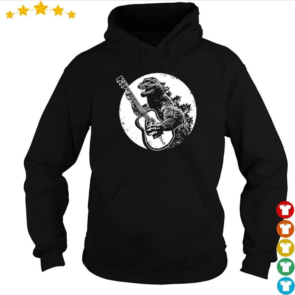Official Guitarzilla in Godzilla s hoodie
