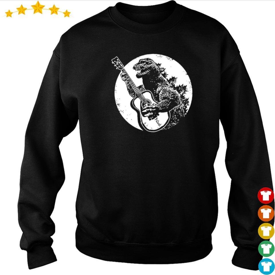 Official Guitarzilla in Godzilla s sweater