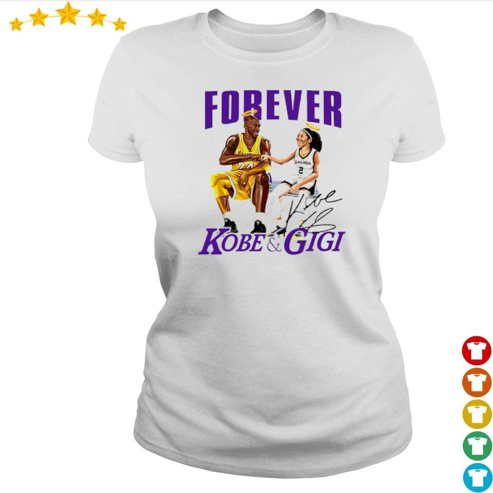 RIP Kobe and Gigi Forever signatures s ladies