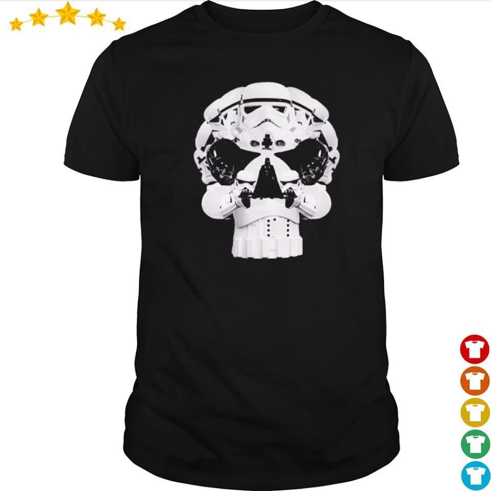 Star Wars Skull Stormtrooper Helmet Darth Vader shirt