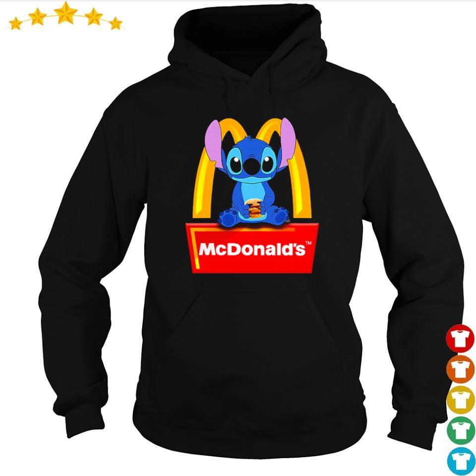 Stitch love McDonald's s hoodie