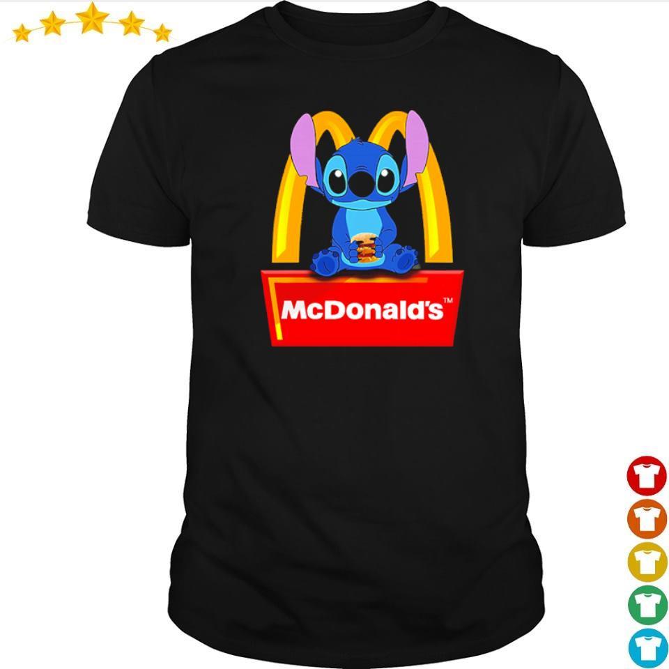 Stitch love McDonald's shirt