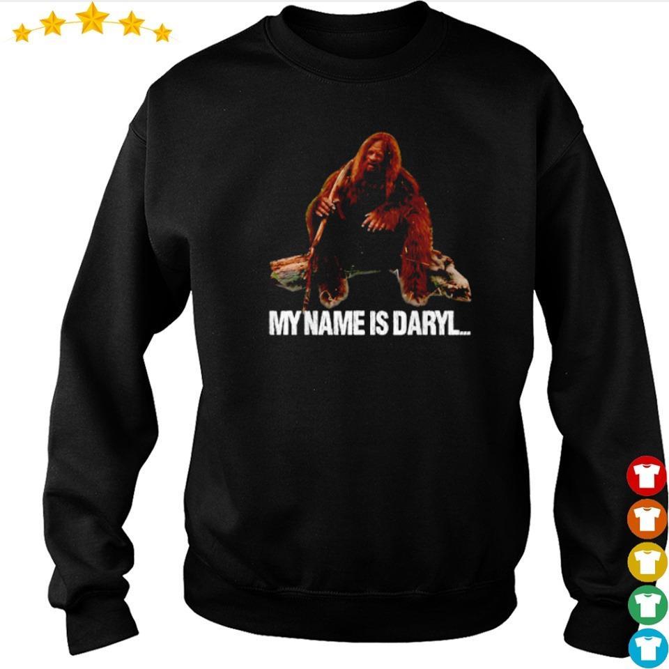 Stone man my name is Daryl s sweater