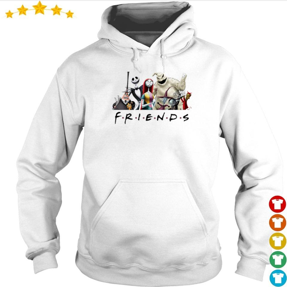 The Nightmare Before Christmas Friends TV Show s hoodie