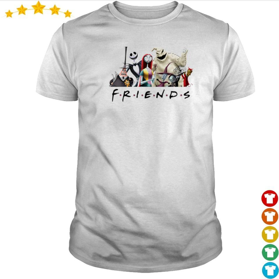 The Nightmare Before Christmas Friends TV Show shirt