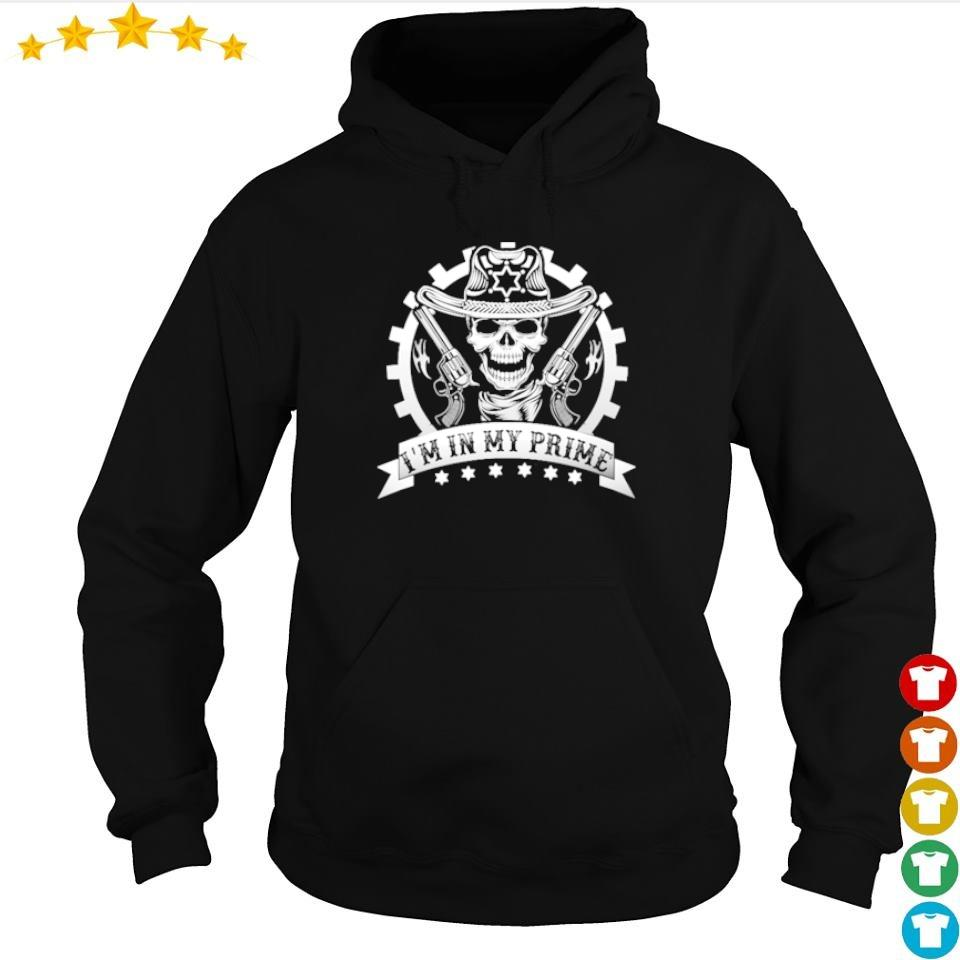 Tombstone I'm in my prime guns s hoodie