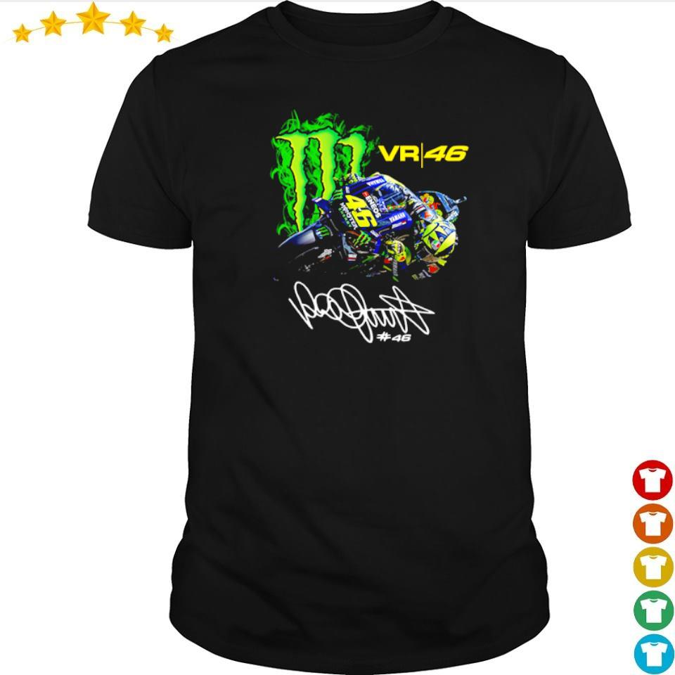 Valentino Rossi 46 Monster Drink signature shirt