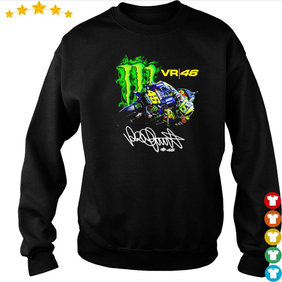 Valentino Rossi 46 Monster Drink signature s sweater
