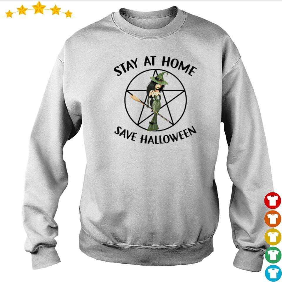 Witch stay at home and save Halloween s sweater