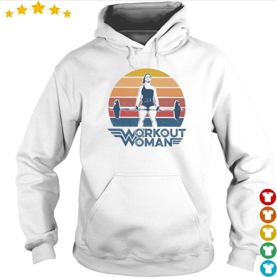 Wonder Woman workout woman vintage s hoodie