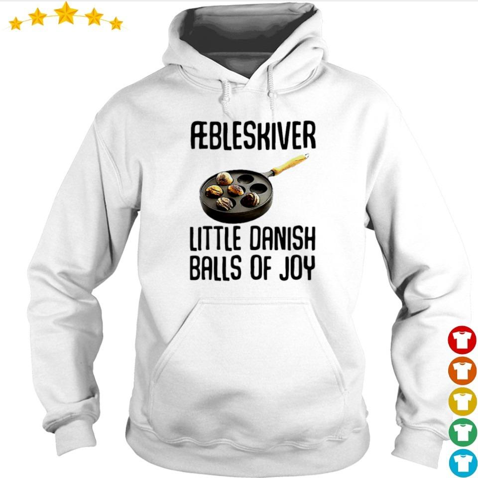 Aebleskiver little danish balls of joy s hoodie