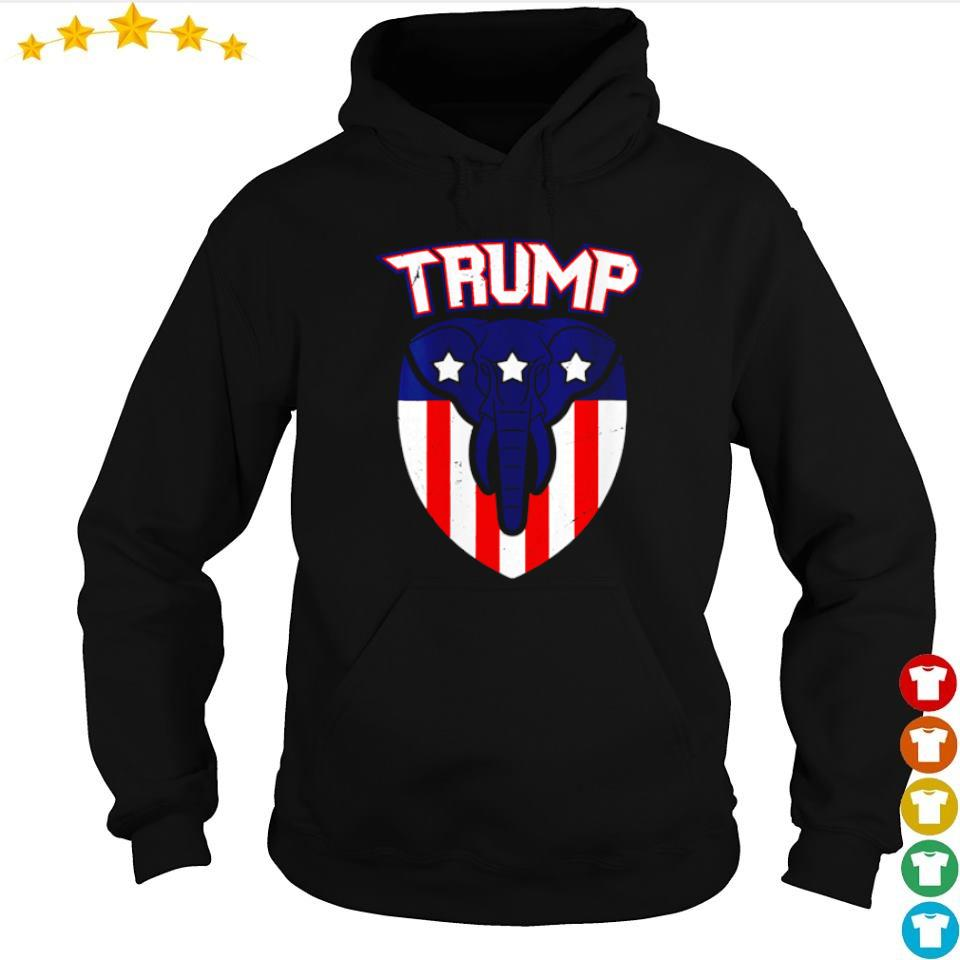 American Flag elephant vote Trump s hoodie
